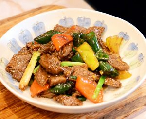 Recipe Beef with Vegetables in Oyster Sauce from Yosukata