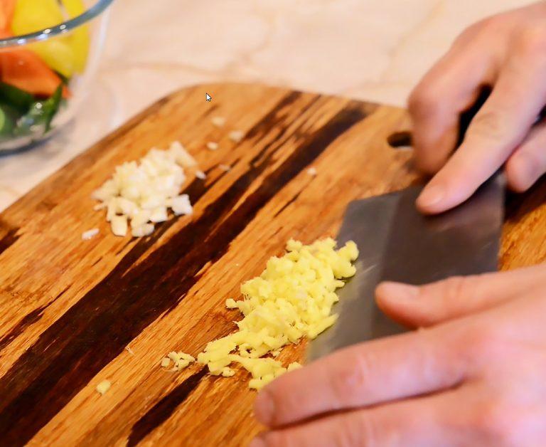 Recipe chopped vegetables Yosukata