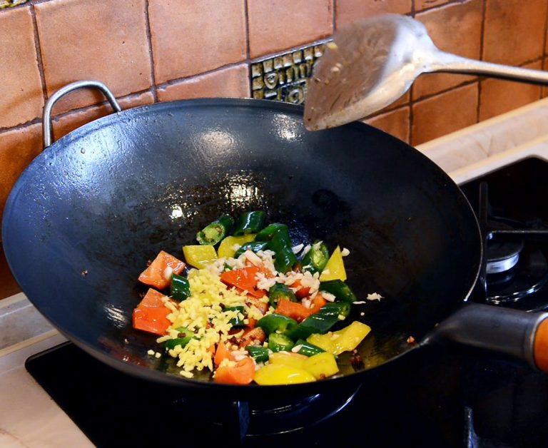 Recipe fried vegetables Yosukata