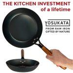 "Small Yosukata 10"" Black Carbon Steel Skillet"